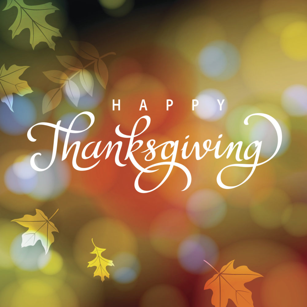 Happy Thanksgiving from Dominion Youth Services!
