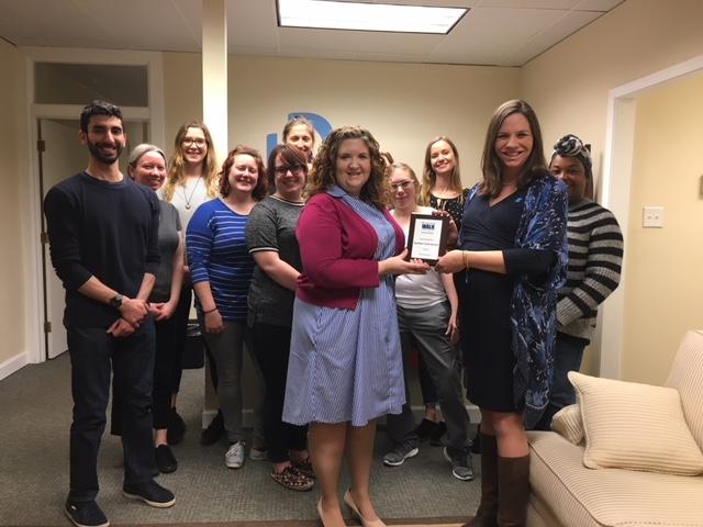 Autism Speaks Recognizes Dominion Care ABA Program