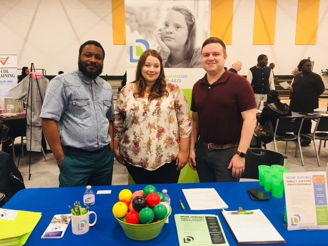 Dominion Care Enjoyed Connecting with Candidates at Recent Job Fair